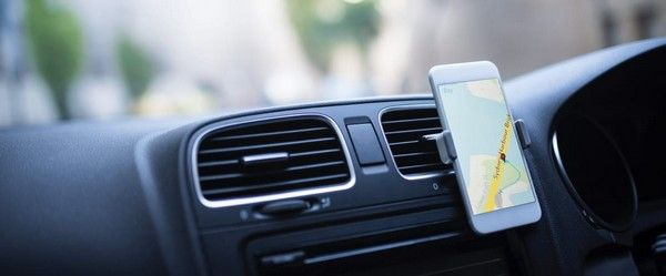 GPS-interface-on-mobile-phone