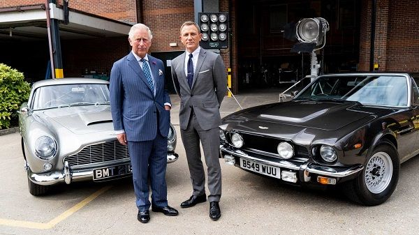 Prince-Charles-and-Daniel Craig-before-AM-cars