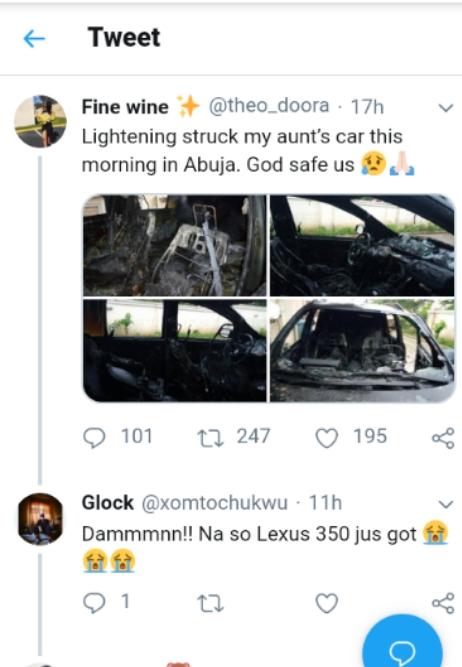 car-burn-tweet