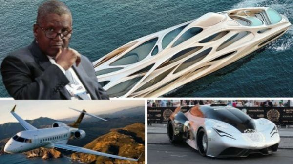 Image result for The pricey car collection of billionaire Aliko Dangote, photos