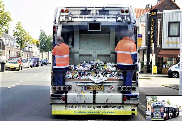 Waste-management-bus-advert