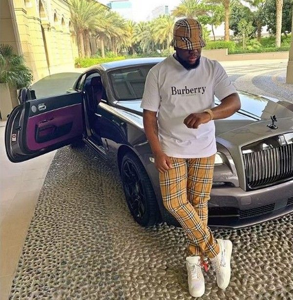hushpuppi-car