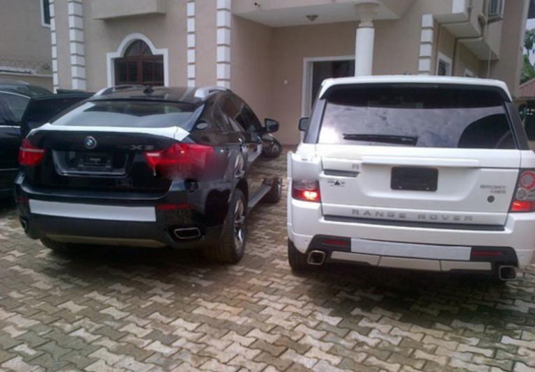 Femi-Otedola-Range-Rover&-BMW