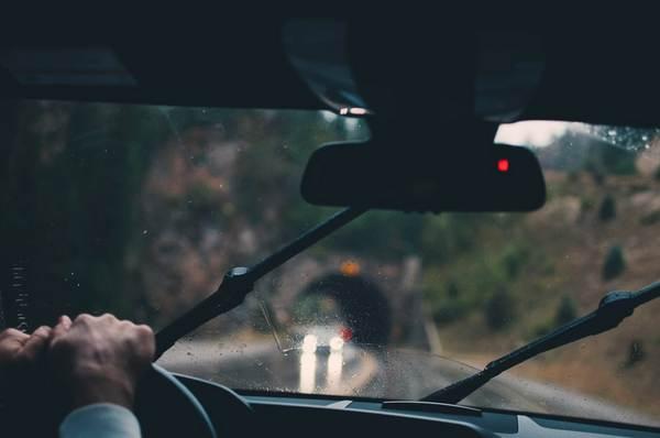 car-running-in-rain