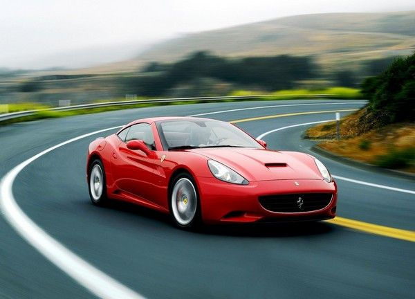 ferrari-on-road