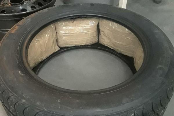meth-in-tire