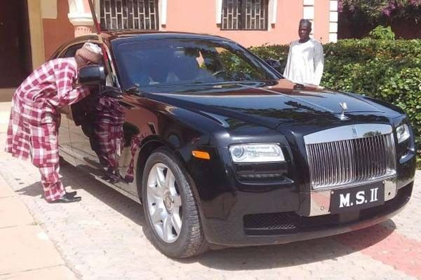 Emir-of-Kano's-second-Rolls-Royce