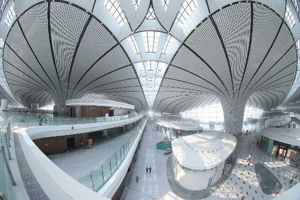 Interior-View-of-Beijing-Daxing-International-Airport-terminal