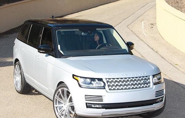 Kim-in-Range-Rover