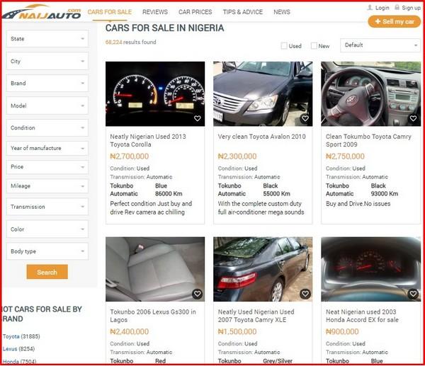 cars-for-sale-on-naijauto