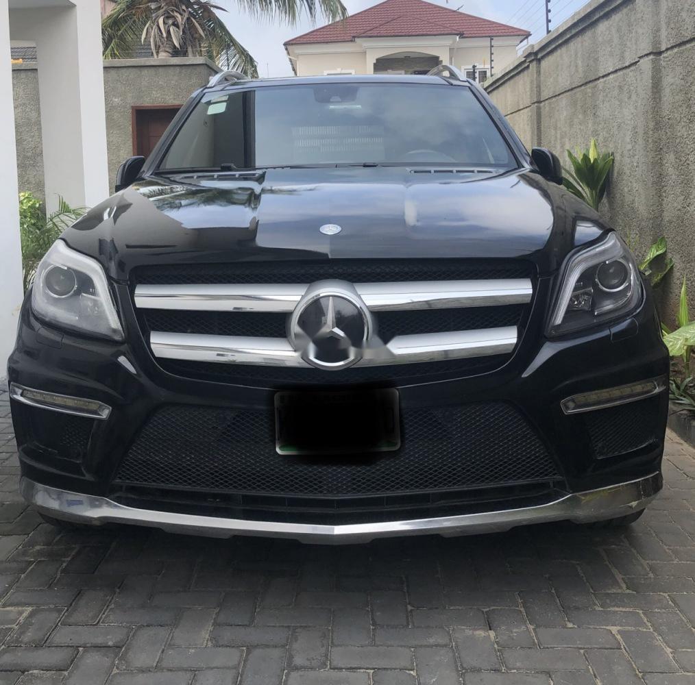 Black 2014 Mercedes-Benz GL-Class Car Suv / Crossover