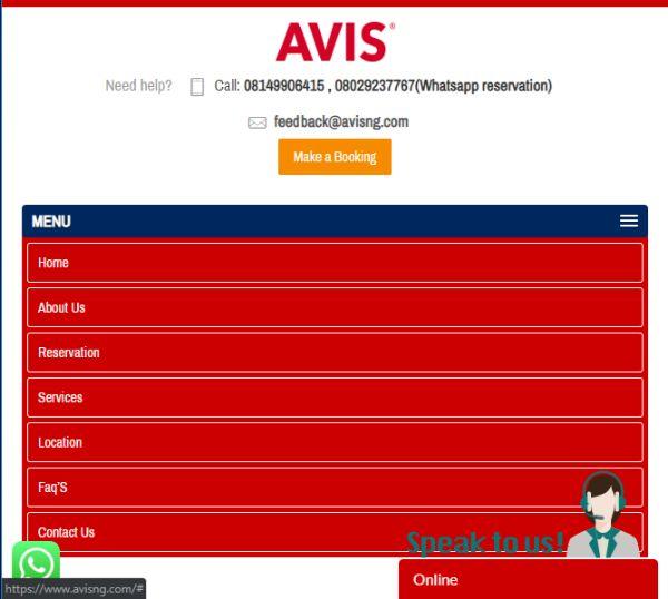 avis-nigeria-website-car-rental-in-Abuja