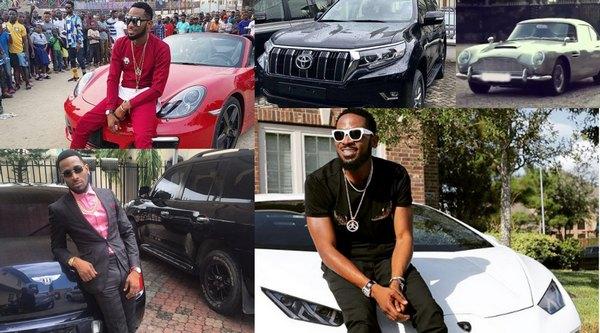 D'Banj-Cars