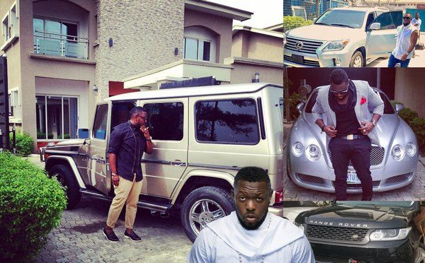 Timaya-the-8th-richest-musicians-in-nigeria-and-his-cars