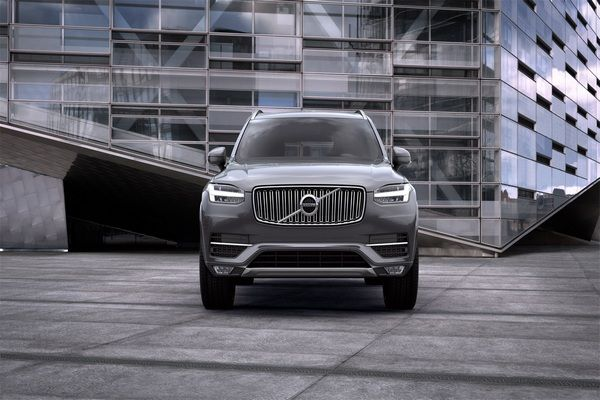 Front-view-Volvo-XC90