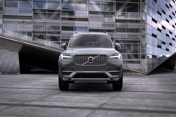 Front-view-Volvo-XC90