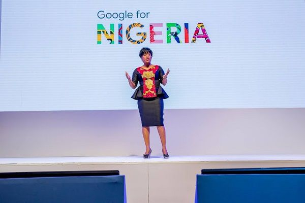 Google-country-director-juliet-speaking-at-the-event
