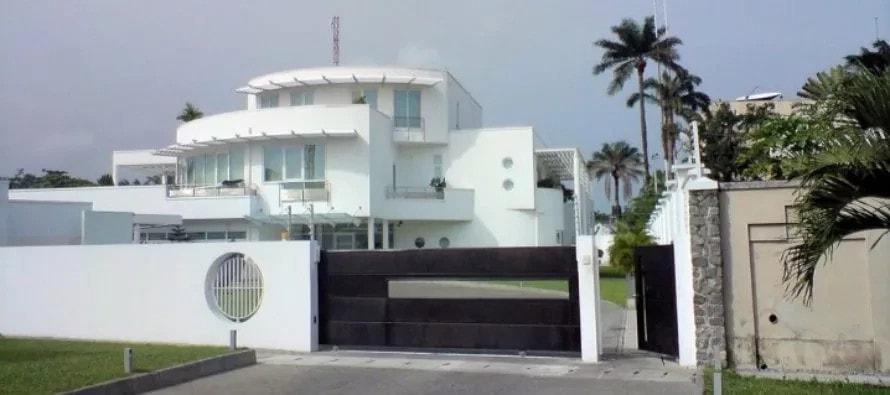 Femi-Otedola'-house