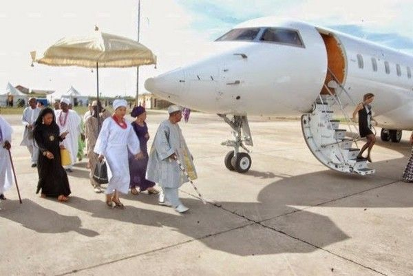 alaafin-of-oyo-private-jet
