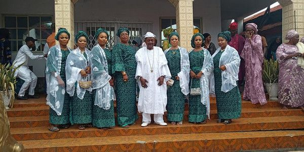 Alaafin-of-Oyo-seven-of-his-wives