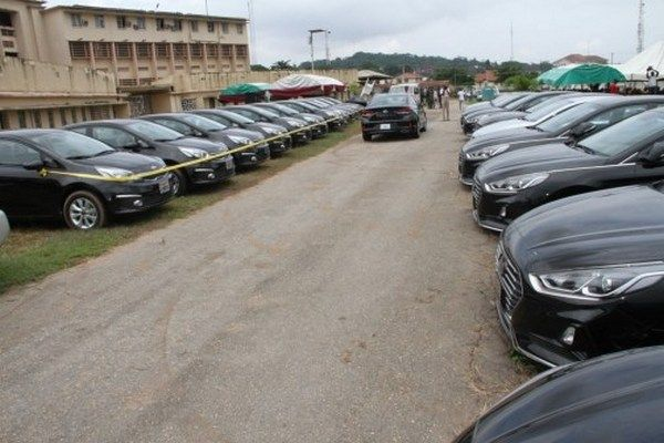 official vehicles meant for the monarchs of Oyo state