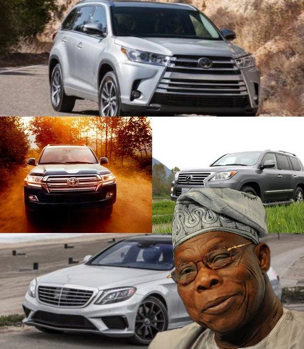 Olusegun-Obasanjo-cars