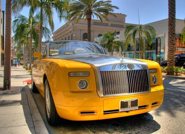 A-Rolls-Royce-car