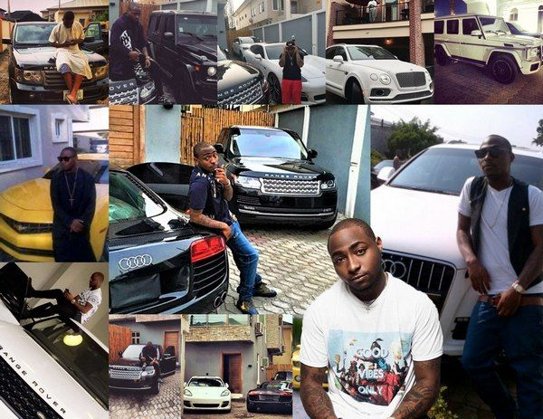 Davido's car