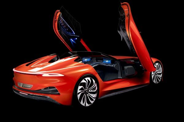 Karma's-first-electric-car-doors-opened