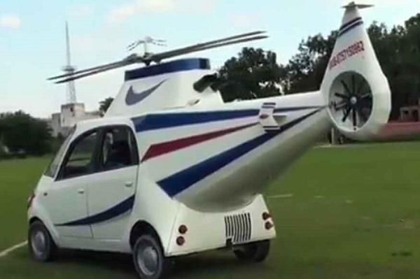 Tata-Nano-transformed-into-helicopter