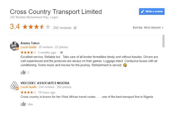 google-maps-reviews-of-cross-country-transport