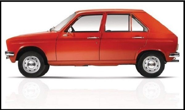Commercialized-Peugeot-104