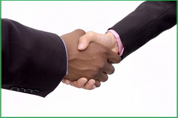 Handshake-between-a-black-man-and-a-white-man