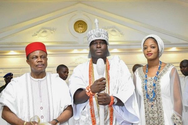 ooni-of-ife-and-his-wife