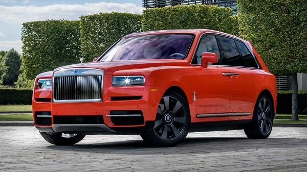 Michael-Fux-Orange-Rolls-Royce-Cullinan-SUV