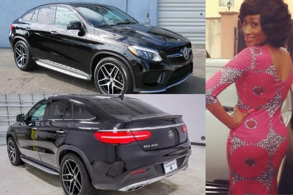Oge-Okoye-and-her-Mercedes-Benz-GLE