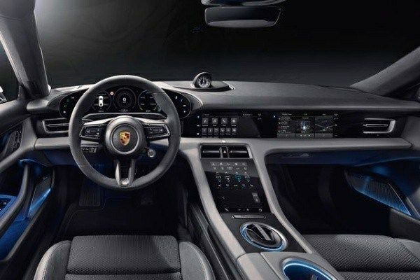 Interior-of-the-all-electric-2020-Porsche-Taycan-sports-car