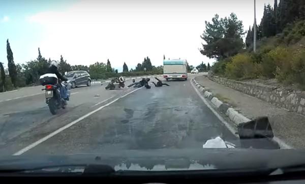 biker-falling