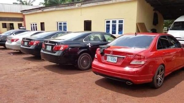 cars-recovered-from-enugu-yahoo-boys-