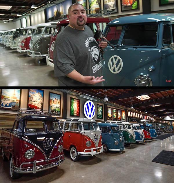 American-comedian-Gabriel-Iglesias-Volkswagen-collector