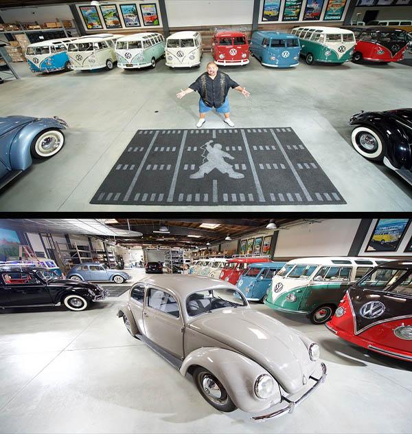 Gabriel-Iglesias-rare-Volkswagen-cars-collection