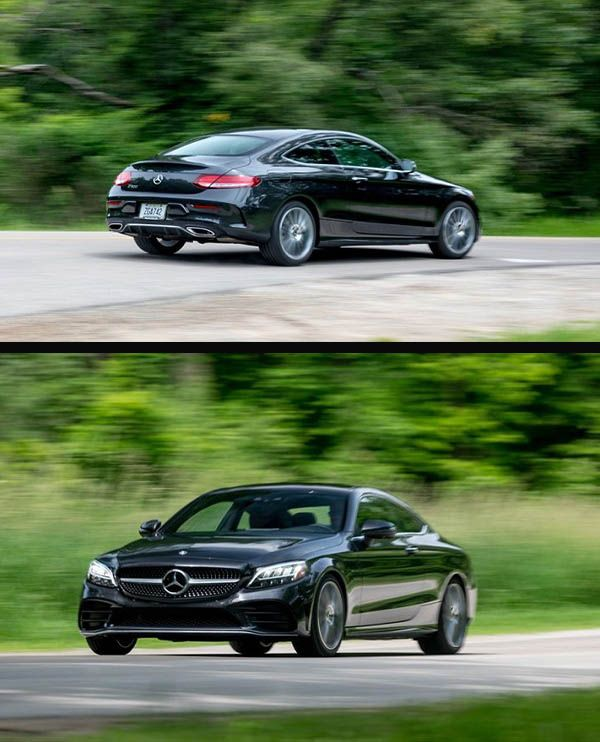 2019-Mercedes-Benz-C300-Coupe-in-motion