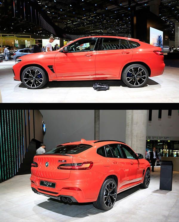 Bmw X4 M: 2020 BMW X4 M Competition Unveiled, Packing 500-plus