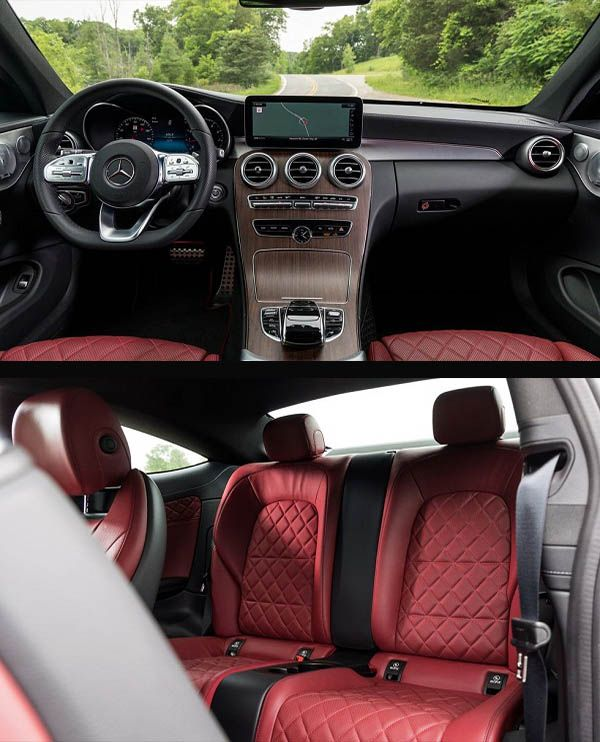 Interior-of-2019-Mercedes-Benz-C300-Coupe