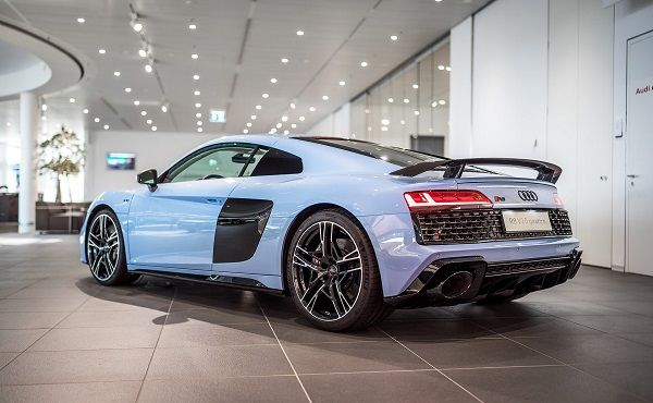 image-of-audi-r8-frosted-glass-blue-rear-view