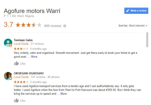 agofure-google-map-user-reviews