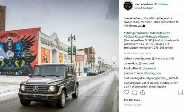 image-of-Instagram-post-of-mercedes-Gwagon-alongside-mural-painting