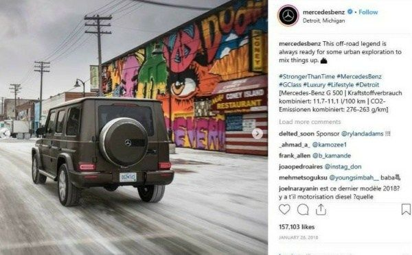 image-of-Mercedes-Instagram-post-war-of-Gwagon-and-mural-paintings-by-four-artist