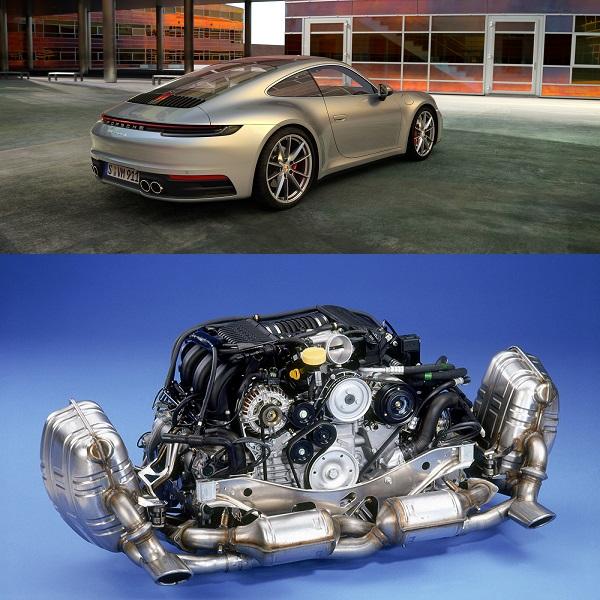 Porsche-Flat-engine