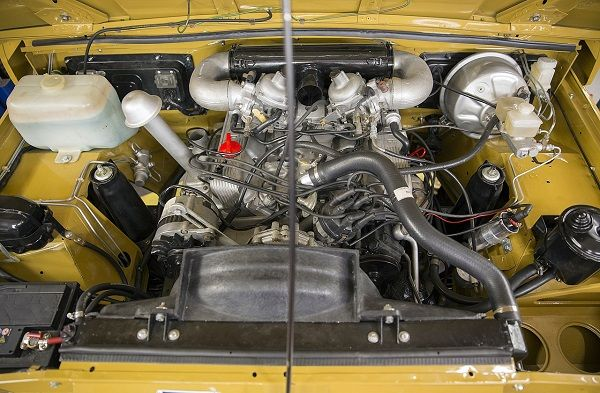 Rover-V8-engine